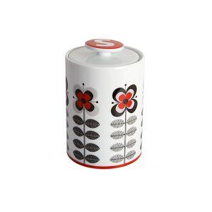 Stockholm Red Sugar Storage Jar