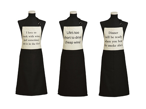 Quips & Quotes Aprons