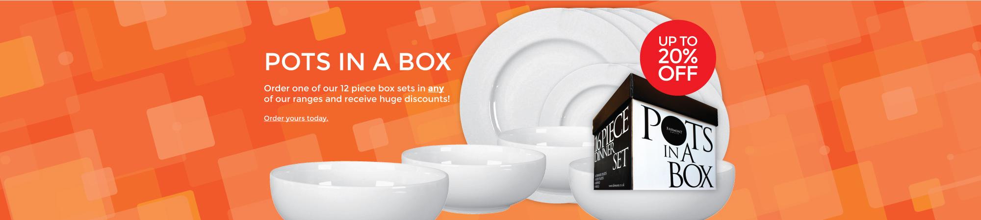 Fairmont & Main Pots in a Box